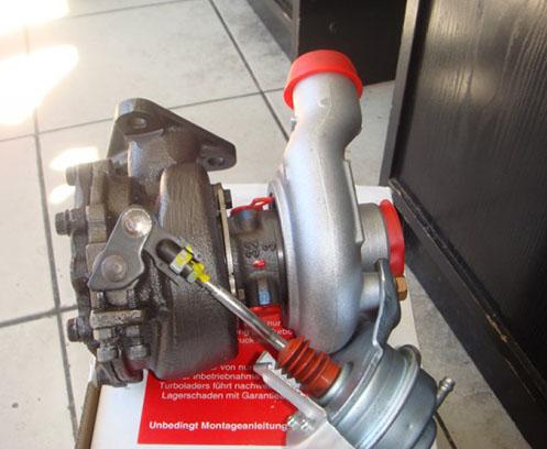 Turbosuflanta Opel Astra H 1.7CDTi 66kw
