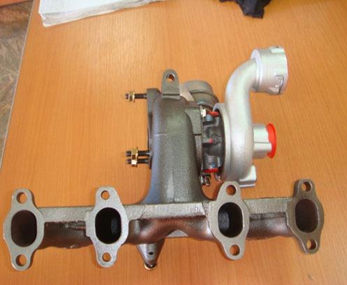 Turbosuflanta Volkswagen Passat 1.9TDi ASZ