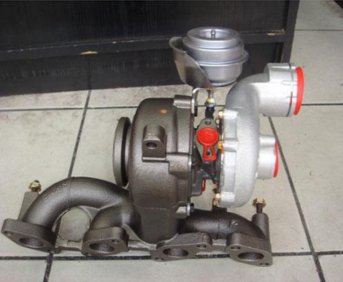 Reconditionata Volkswagen Touran 2.0TDi – BKD