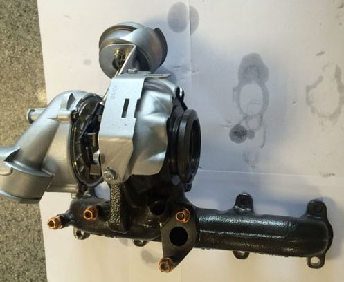 Turbosuflanta Seat Leon 2.0TDi 140CP