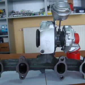 Turbosuflanta Skoda Fabia 1.9TDi 74kw